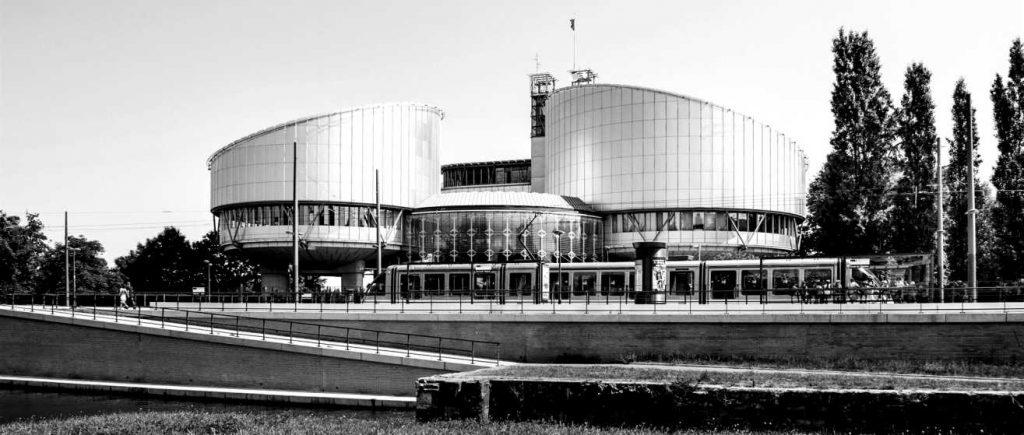Edificio del Tribunal Europeo de Derechos Humanos