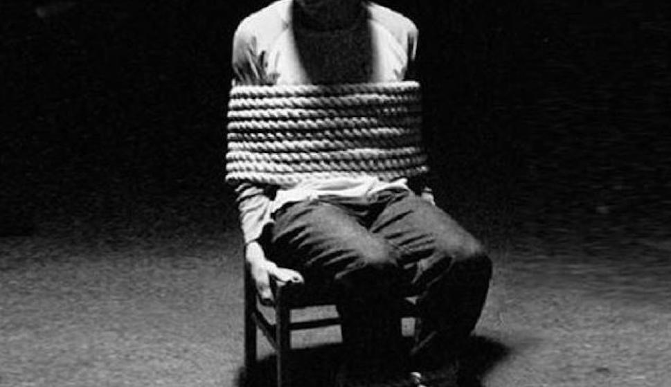 persona torturada