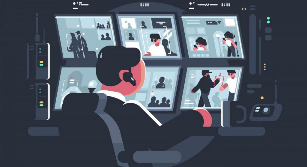 vigilancia videográfica en el trabajo
